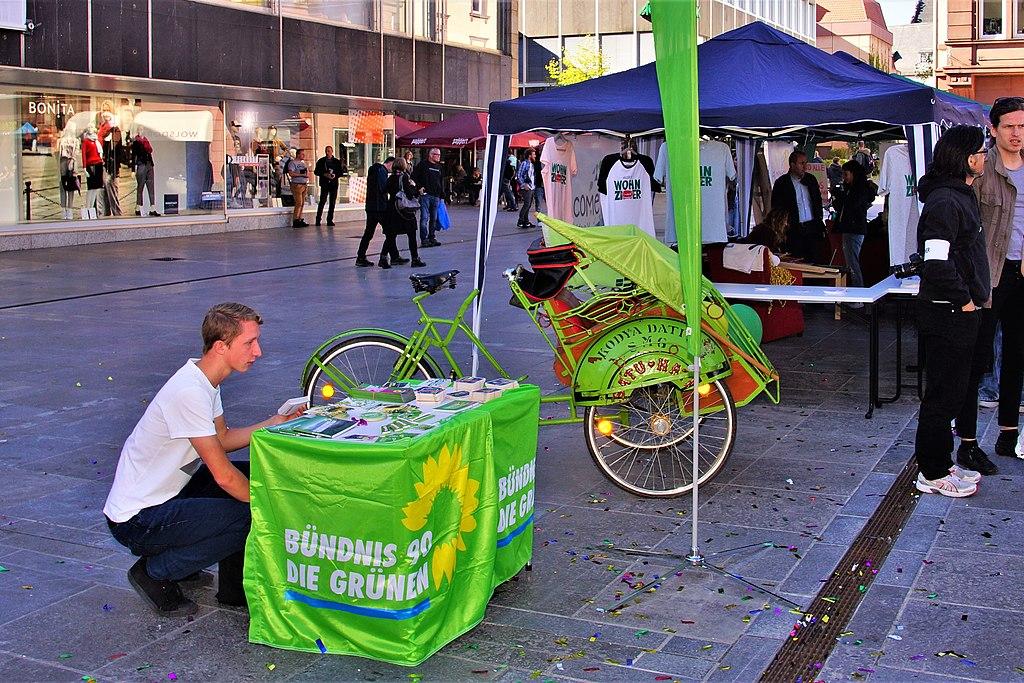 Die Grünen – eine Volkspartei oder ein Höhenflug?