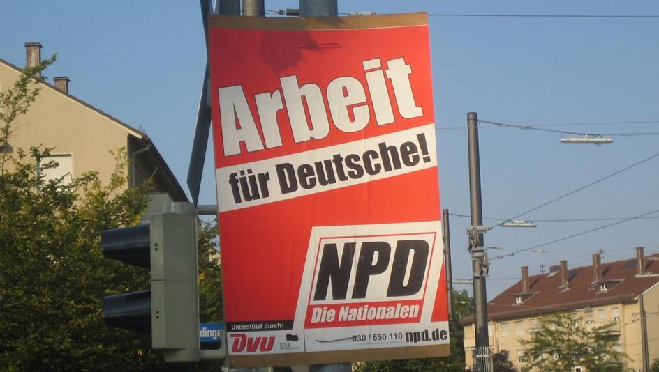 Die NPD – eine vergangene Partei?